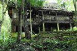 Old derelict building adjacent to Kwang Si waterfall near Luang Prabang. Image 2.