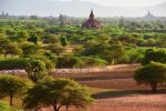View of temples in Bagan