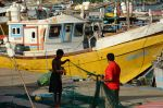 Fishermen at Galle