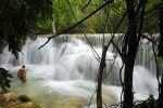 Falls below Kwang Si waterfall near Luang Prabang. Image 2..