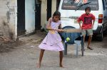 Cricket in the street in Colombo
