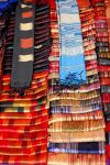 Beautiful silk fabrics from the Luang Prabang market.